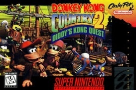 Boîte du jeu Donkey Kong Country 2 : Diddy's Kong-Quest